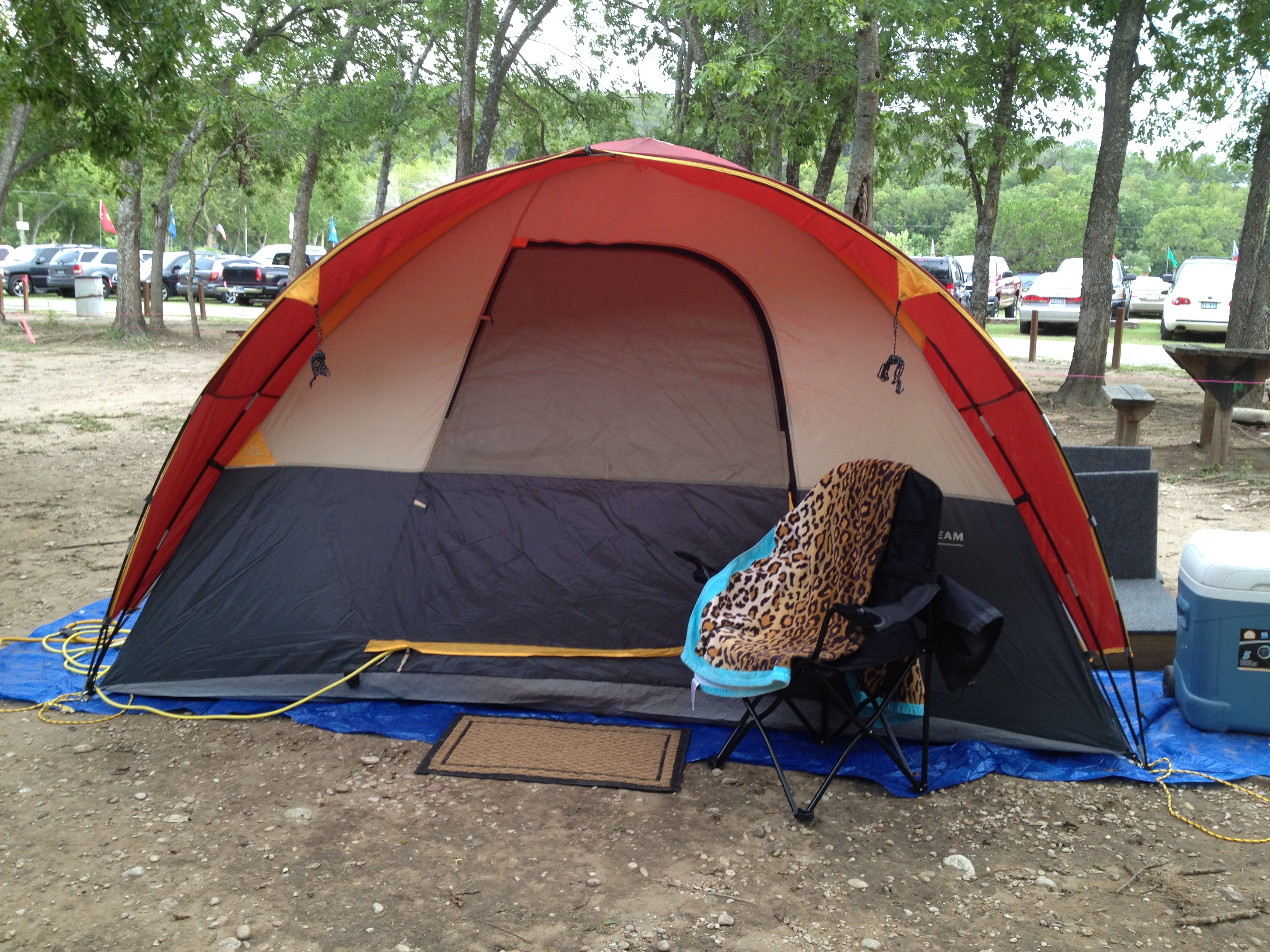 I set the tent ... & Austin sites | Fabulous at FIFTY