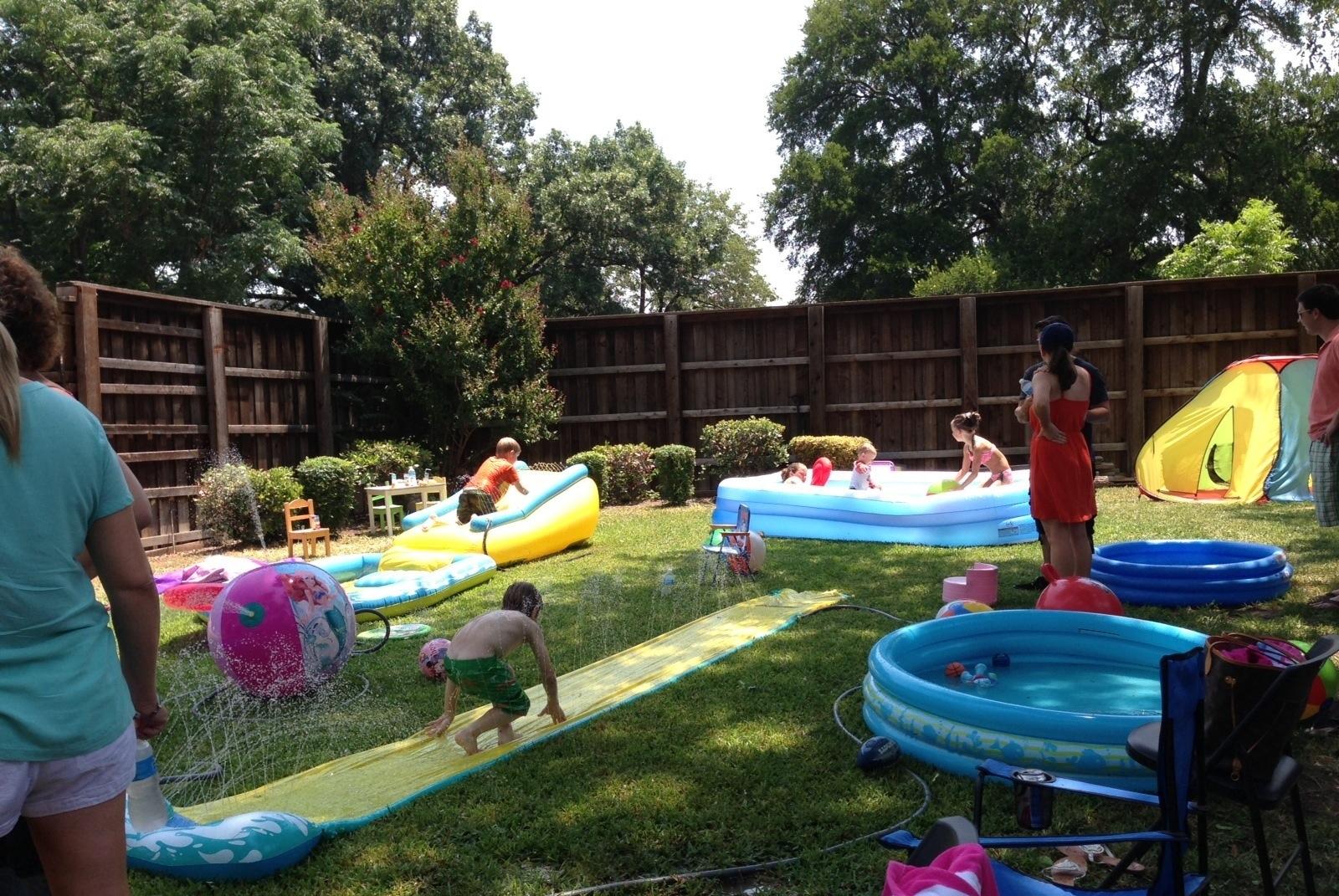 Backyard Birthday Party Ideas Adults
