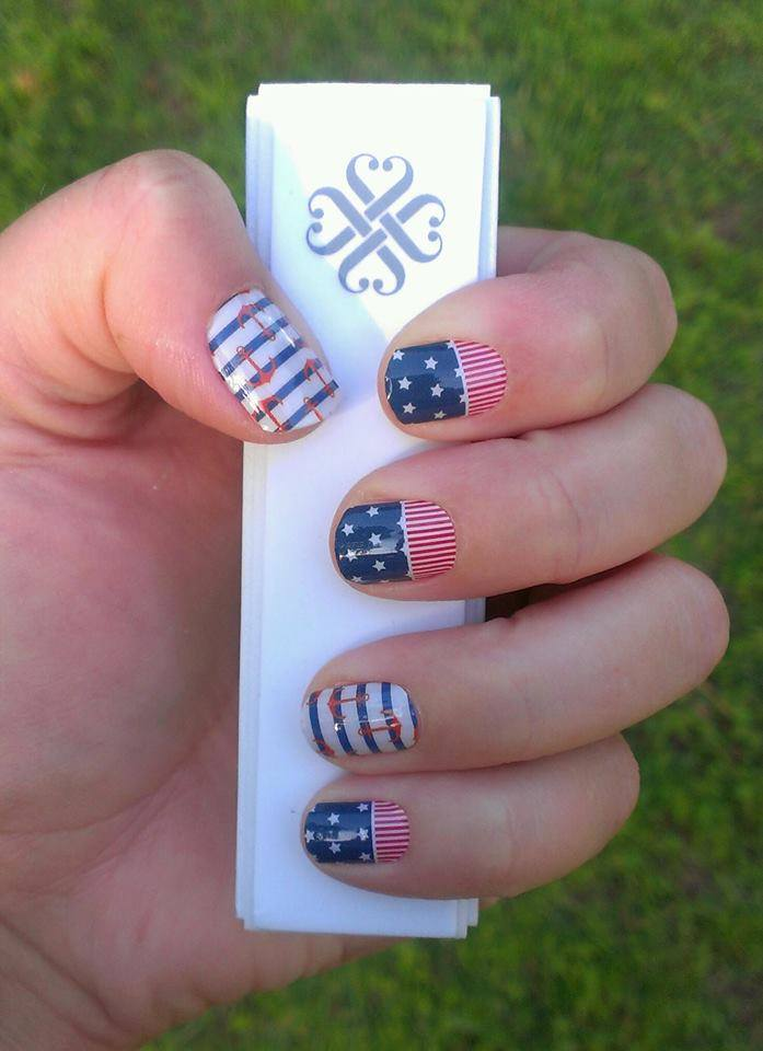 Patriotic Jamberry Jamicure of