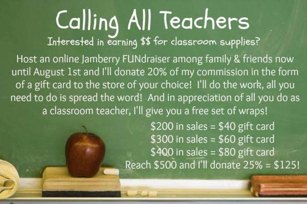 Teacher Fundraiser